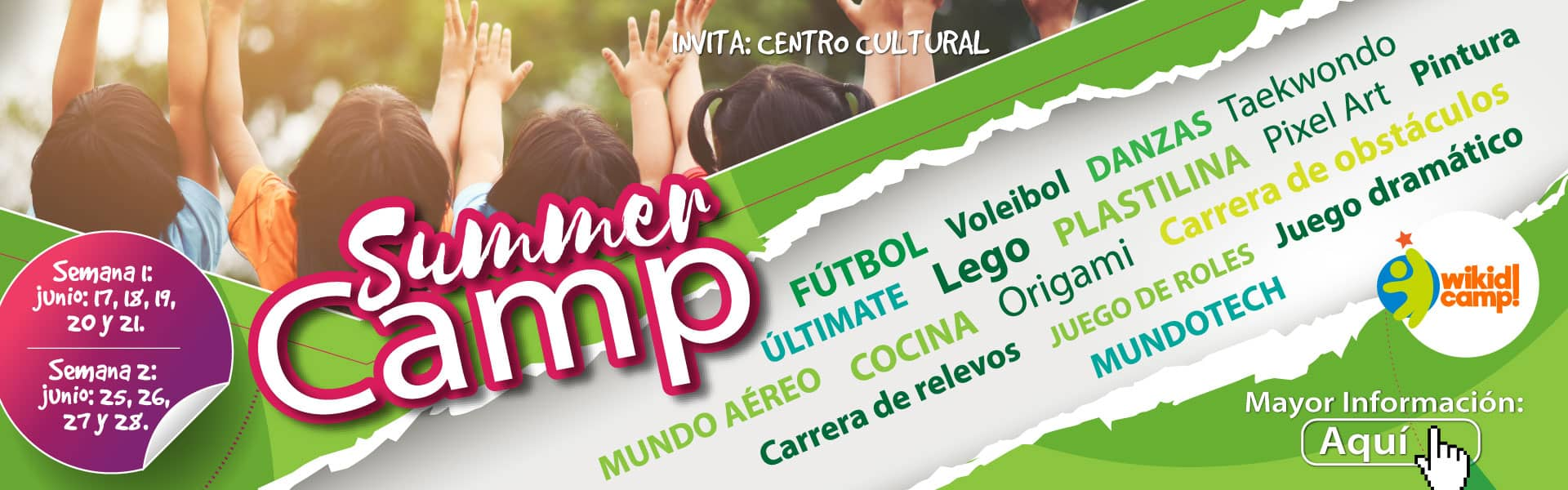 Liceo Cervantes Summer Camp 2019